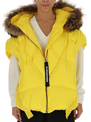 AS65 Y29015SPL250 Damen Gelb Polyester Jacke