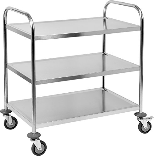 Yato yg-09091 - Service Trolley 3 Tiers Round Service Trolley