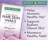 Haar Haut Nails Arganöl Erfüllte, 5000 mcg Biotin, 250 Rapid Release Kapseln Flüssigkeit