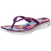 Skechers H2 Goga-Lagoon, Sandalias Flip-Flop para Mujer