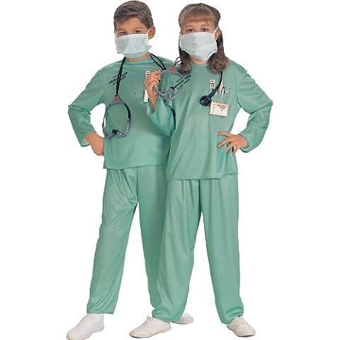 Rubie's 881061M - Disfraz de médico para niño