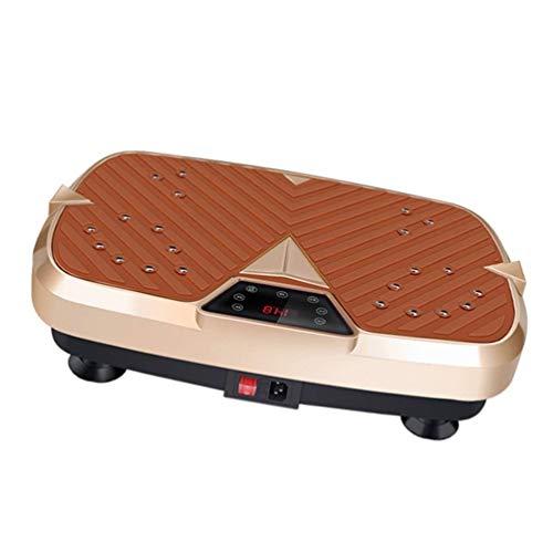 QNJM Vibrationsplattform-Maschine Crazy Fit Vibrationsplatte-Ganzkörper-Schütteltrainingsgerät, Vibrationsplatte, Trainingsgerät, Maximalgewicht 350 Lbs (Color : C, Size : 47cm/18.5inch)