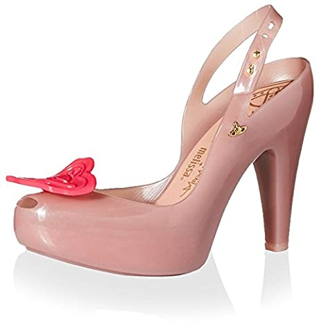 Vivienne Westwood Women's Pump with Heart, Pink, 36 M EU/6