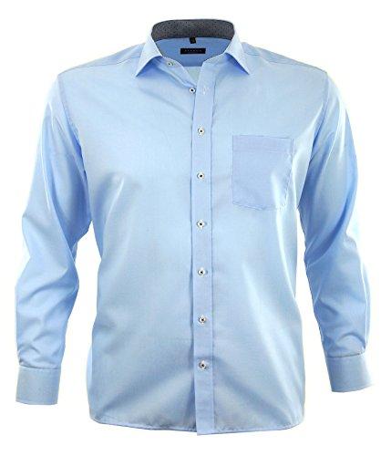 ETERNA long sleeve Shirt COMFORT FIT uni Hellblau