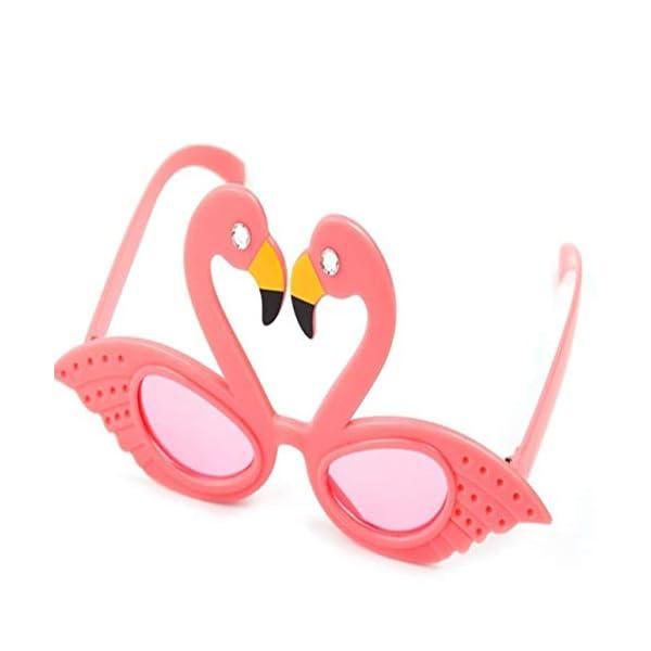 Hado Elegante, 1 pieza Flamingo anteojos de sol flamingo playa novedad decoraciones de fiesta boda decoración hawaiana… 2