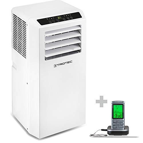 TROTEC Aire Acondicionado Portátil PAC 2010 SH + Termómetro de Barbacoa BT40 / 4 en 1: Refrigeración...