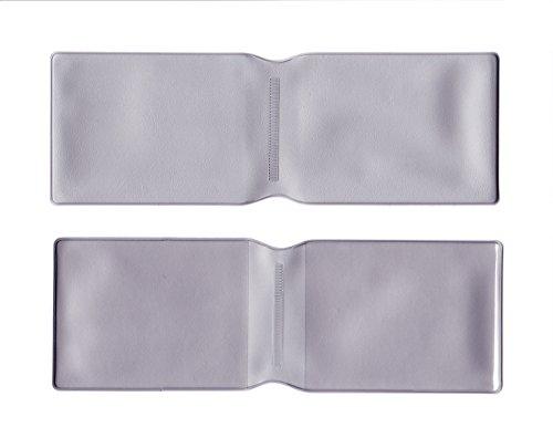 10x Silber Kunststoff Oyster Card Wallet Abdeckung/Halterung/