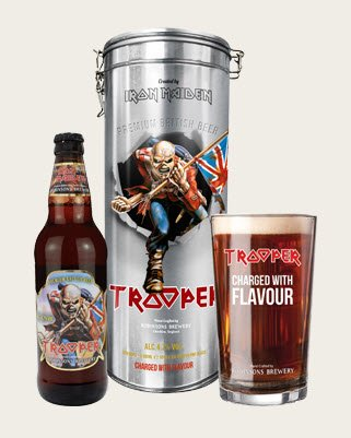 Coffret métal Trooper 0.50L + 1 verre