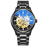 DSADDSD # Männer Wasserdichte Digitaluhr Herrenuhr Leistungsstarke kommerzielle mechanische Uhr Sportuhren für Männer (Farbe : 4)