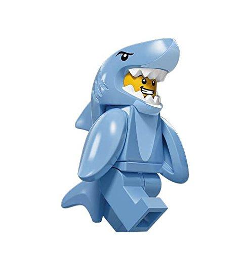 Lego Minifiguras Serie 15 - Hombre con disfraz de tiburon