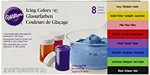 Wilton EU Icing Color Kit 8 x 28 g, 1er Pack (1 x 226 g)