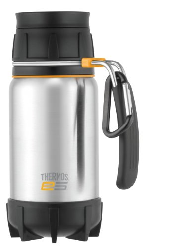 Thermos Elements 5 Edelstahl-Thermoskanne 470 ml Thermos Nissan Travel Tumbler