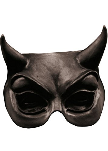 (Halloween Gothic Black Devil Maske)