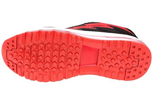 gibra Herren Sneaker Sportschuhe, Art. 9037, Sehr Leicht und Bequem, Schwarz/Rot, Gr. 41-46 Schwarz/Rot