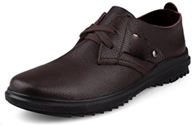 Die Zufälligen Schuhe der Männer Beschuht Geschäfts Schuhe Kühles Hugh mit weisslichem Kuh Geschäfts scharfem Glattem