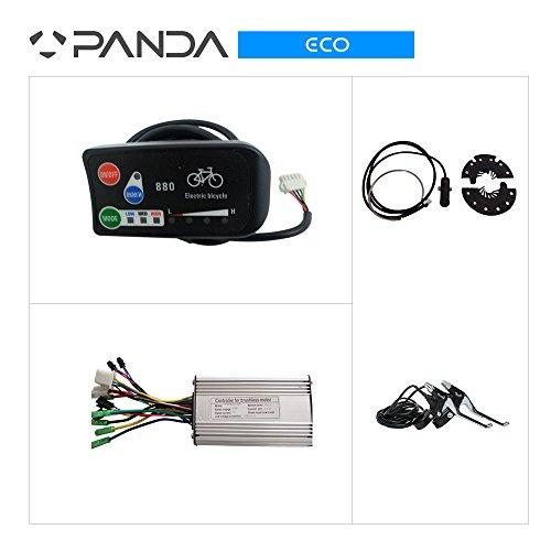 36V 250W BICICLETA ELECTRICA PARA BICICLETA SISTEMA DE CONTROL  CONTROLADOR CON PANTALLA LED + FRENOS + PAS PARA NO HALL MOTOR