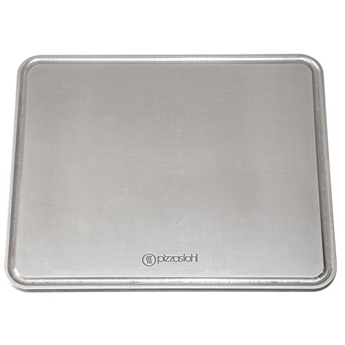Gourmetrics Pizzastahl 38x32 cm x 8mm / Griddle