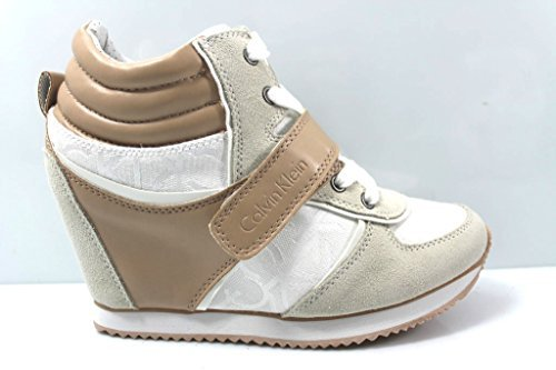 Calvin Klein Jeans - Viridiana Sneaker Donna Bianco