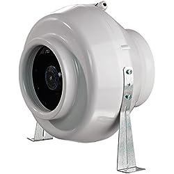 blauberg UK centro-125blauberg Centro en ligne conduit centrifuge Ventilateur 125mm 1gris