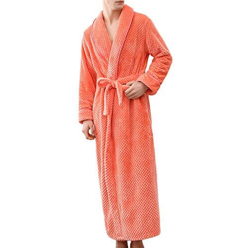 Beikoard Sexy Dessous,Paar Bademantel Winter-Bademantel-in den Größen: S/M - L/XL-2XL/3XL-Home Kleidung Schal Langärmeliger ()