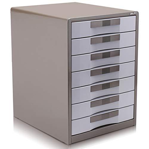 Ordnerregale Aktenschrank Schreibtisch Finishing Cabinet Siebenschichtiger Metall-Lagerklassifizierungsschrank Mit Schlossfach Aktenschrank Datenschrank Sicherheitsschlossschrank