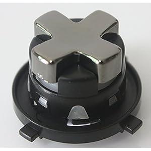 Ersatz Transforming D-Pad Taste für Xbox 360 Controller Grau / Silber