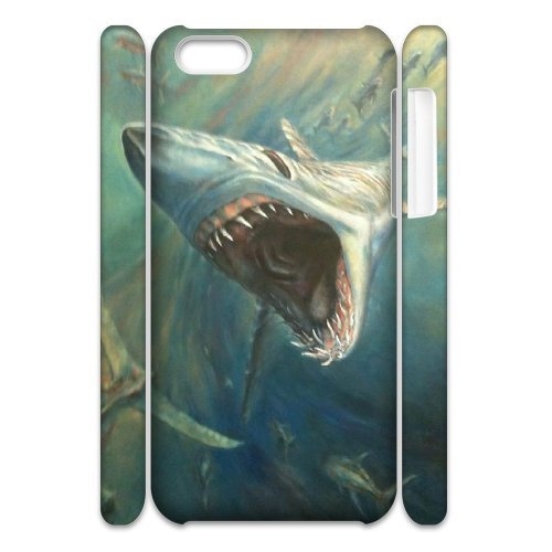 LP-LG Phone Case Of Deep Sea Shark For Iphone 4/4s [Pattern-6] Pattern-1
