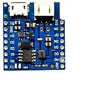 DaoRier Base de la Batería V1.2.0 Carga Actualización Batería de Litio de una Celda para D1 Mini