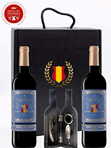 Caja Regalo Vino Tinto - Pack 2 Botellas