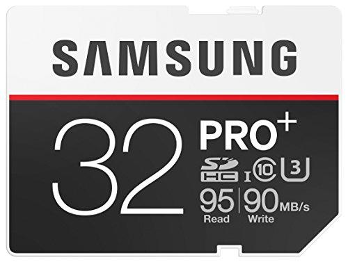 Samsung Speicherkarte SDHC 32GB PRO Plus UHS-I Grade U3 Class 10 (bis zu 95MB/s lesen, bis zu 90MB/s schreiben) (Samsung Pro Sdhc-speicherkarte)