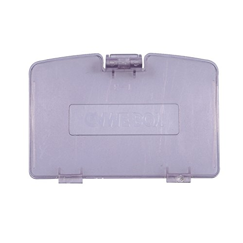 Remplacement Timorn Trappe batterie Compartiment pour Nintendo Game Boy Color (Transparent Violet)