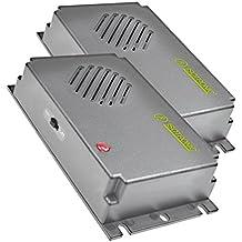 ISOTRONIC Dissuasore a ultrasuoni per topi e ratti mobile alimentazione a batteria confezione da 2