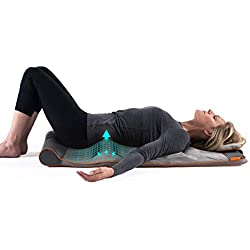 HoMedics STRETCH Tappetino per lo Stretching Ispirato allo Yoga - con 7 Camere d'Aria che si Gonfiano in Sequenza per Allungare, Ondulare, Sollevare, Inarcare, 120 x 50 x 12 cm