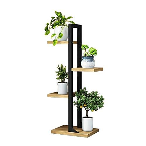 XUzgHA Blumentopfhalter, Haushalt Garten Balkon Blumenständer Wohnzimmer Innenboden Blumenständer Vier Etagen Höhe: 92CM (Size : 30 * 30 * 92CM) -