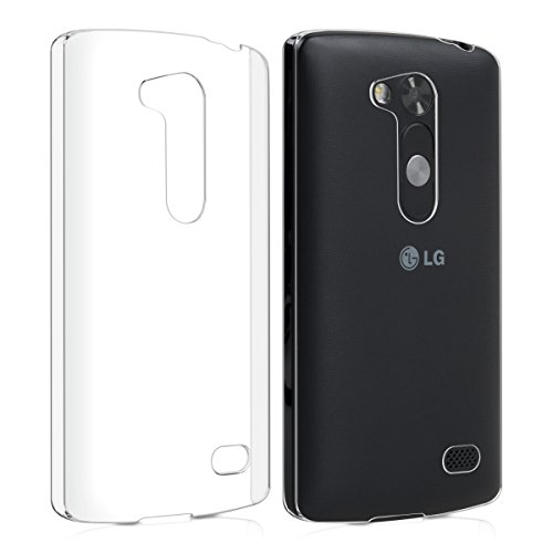 kwmobile Crystal Hülle für LG L Fino Hard Case - dünne durchsichtige transparente Schutzhülle Cover klar in Transparent