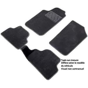 tapis auto sur mesure citroen c3 depuis 11 2009 ds 3 noir. Black Bedroom Furniture Sets. Home Design Ideas