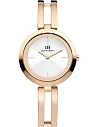 Danish Design Damen-Armbanduhr Analog Rotgold DZ120369