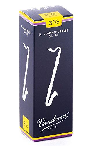 VANDOREN CR1235   LENGUETA PARA CLARINETE PARA CLARINETE (DUREZA 3 5  PACK DE 5)