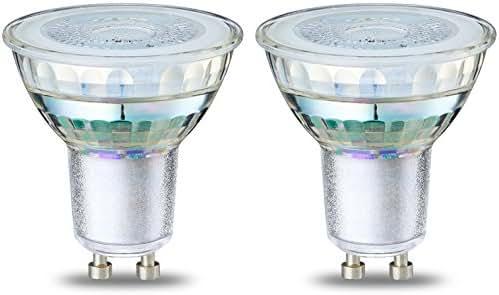AmazonBasics Spot LED type GU10, 4.6W (équivalent ampoule incandescente de 50W), verre -