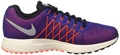 Nike Air Zoom Pegasus 32 Flash, tour de formation homme Multicolore (Dp Ryl Bl/Rflct Slvr-Ttl Crmsn)
