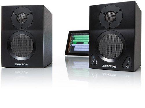 Samson MediaOne BT3 Multimedia Lautsprecher mit BlueTooth Empfänger (Bluetooth Monitor-lautsprecher)
