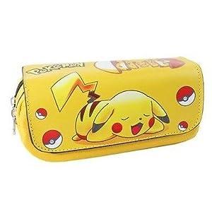 Pokemon Portatodo pikachu 2 cremalleras
