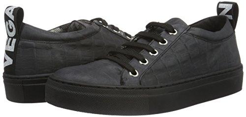Jonny`s Vegan Damen Hanne Sneakers, Schwarz (Negro), 37 EU - 5