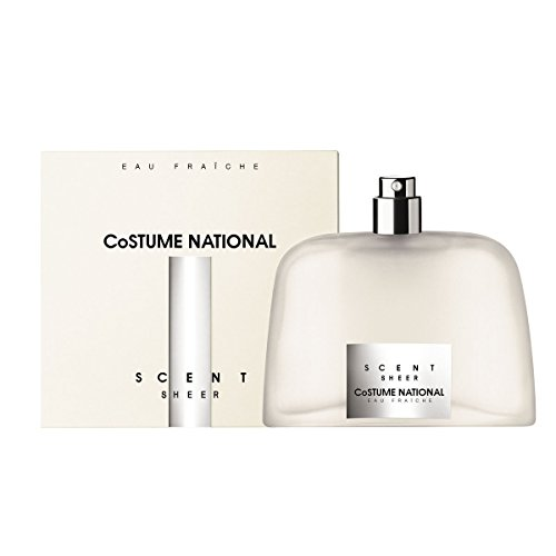 Costume National Scent Sheer Eau Fraiche Natural Spray, 50 (National Parfum Scent De Costume Eau)