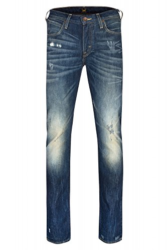 Lee Arvin regolari Uomini conici jeans blu L732QBPO, Size:W29/L34