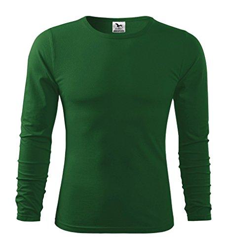 Dress-O-Mat Herren T-SHIRT LangarmShirt Longsleeve Grün