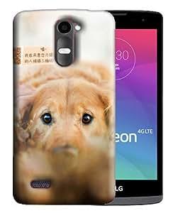 PrintFunny Designer Printed Case For LG Leon