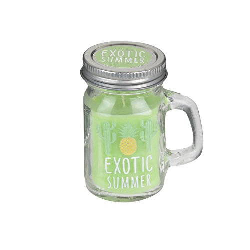 Candle Factory CMP, Mini Kerze Mason Jar Exotic Summer-Exotischen Cocktail