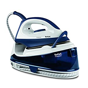 Tefal SV6040 Fasteo Steam Generator Iron, 2200 Watt, Blue
