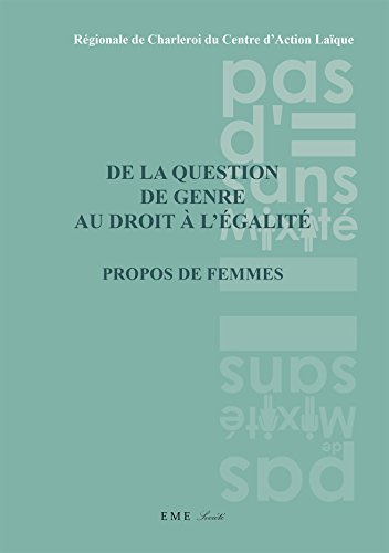 De la question de genre au droit à l'égalité (Société)